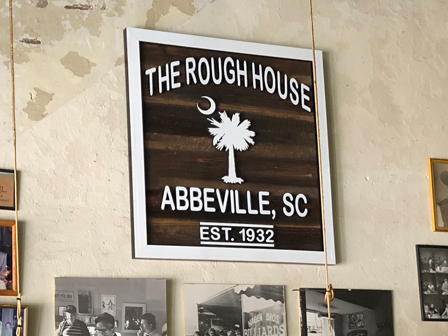 Rough-House-Sign
