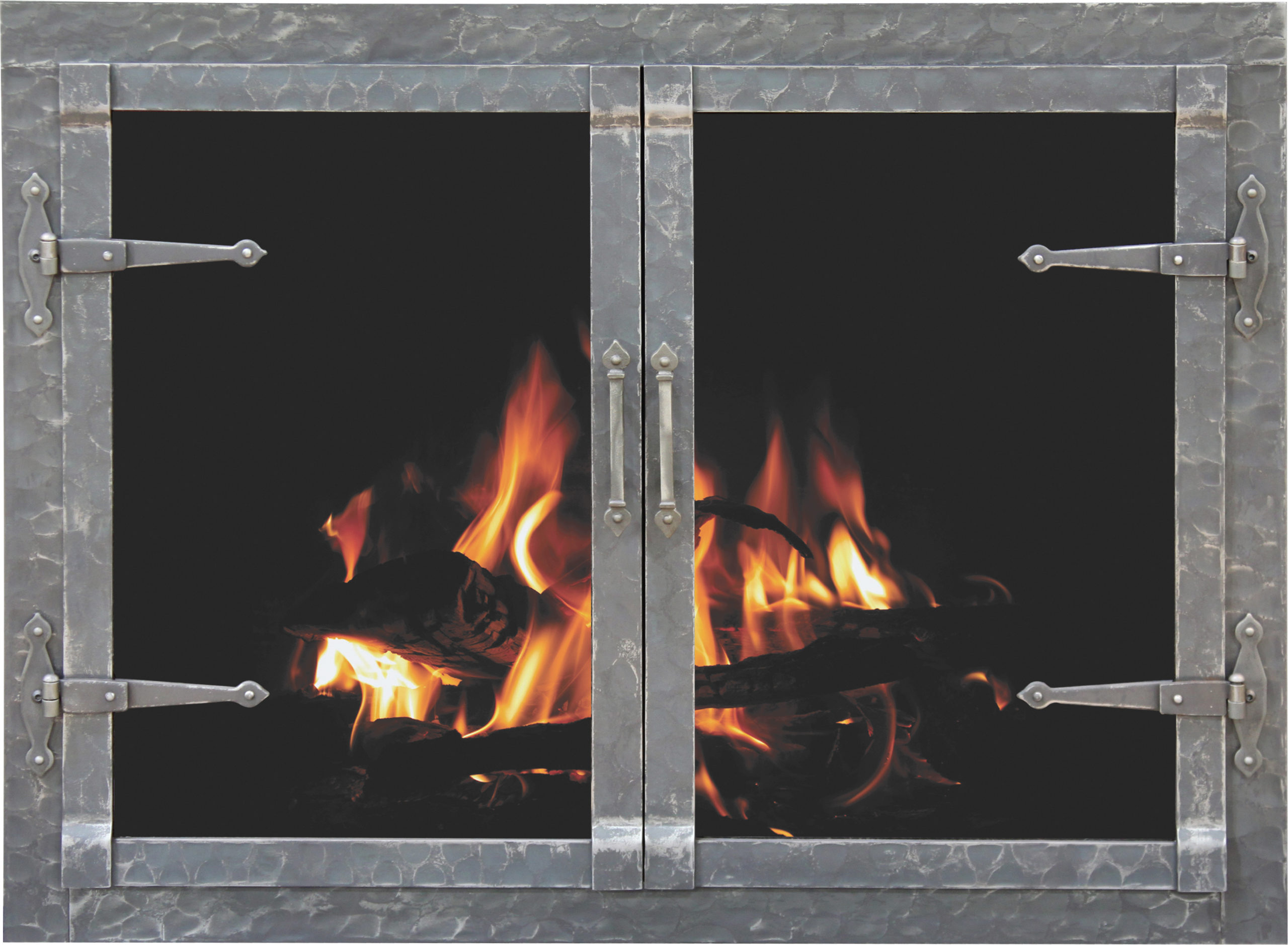 Rustic_Forged_Iron_Fireplace_Door