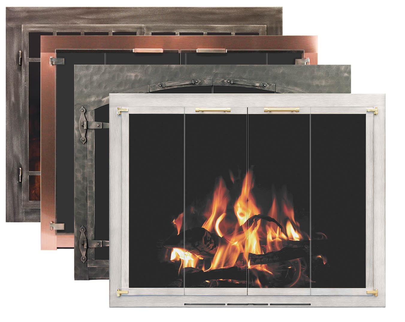 fireplace door styles